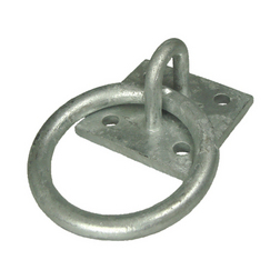 Galvanised Mooring Ring & Base