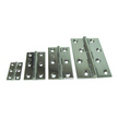 Chrome Plated Solid Drawn Brass Butt Hinges