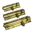 Solid Drawn Brass Barrel Bolts