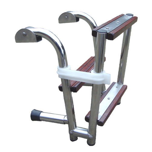 Compact Wooden Step Boarding Ladder
