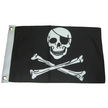 Economy Skull & Crossbones Pirate Flag