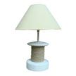 Shabby Chic Capstan Lamp
