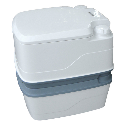 Thetford porta potti qube 365 portable toilet sheridan for Deluxe portable bathrooms