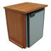 Freeman Compact Fridge & Mahogany Fridge Box