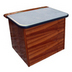 Freeman Grey Smooth Top Step Box