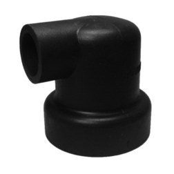 Bowman Heat Exchanger Right Angle 90mm Rubber End Caps