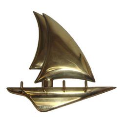 Brass Yacht Keyhook