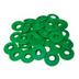 Plastic Eyelets 12mm - Green