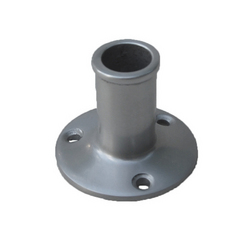 Straight Aluminium Flagstaff Socket