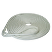 English Braids White Fastline Doublebraid Dockline - 10mm x 8m