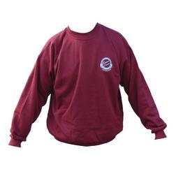 Freeman Burgundy Sweatshirt Large