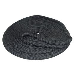 Pre-Spliced Doublebraid Black Dockline 10mm x 10m