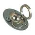 Circular Chrome Lifting Ring Large - 67mm