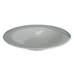 Opal Stripe Soup Plate