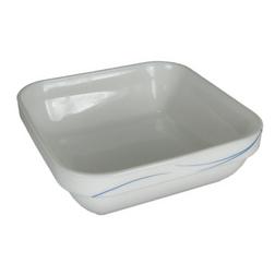 Opal Stripe Square Bowl