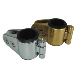 Traditional Chrome Split Jaw Canopy Bar Clamps
