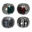 Perko Round Chrome Casing Navigation Lights