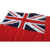 Sewn Red Ensign 3/4 yd