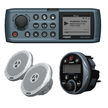Fusion Waterproof iPod/Radio, Speakers & Remote Bundle