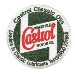 Castrol Classic Cloth Badge