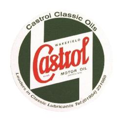 "Castrol Classic Insignia Sticker - 5"""
