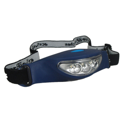 Water Resistant Rubber LED Head Torch