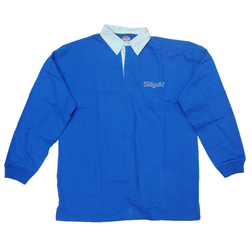 British Seagull Royal Blue Rugby Shirt - Large