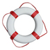 Red and White Lifebuoy Ring - 66cm