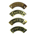 Curved Brass Name Plates