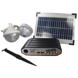 HUBi SolarHub 2K Solar Lighting & Power System