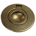 Circular Concealed Fitting Lifting Ring 53mm - Brass