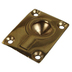 Rectangular Lifting Ring 38 x 29mm - Brass