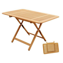 Collapsible Teak Table