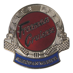 Freeman Cruiser Pin Badge