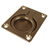 Rectangular Brass Lifting Ring 63 x 48mm