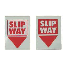 Slip Way Labels