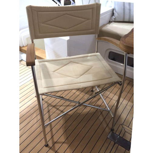 Stainless Steel Folding Directors Chairs