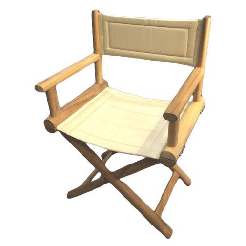 Teak Folding Directors Chairs; Teak Folding Directors Chair   Sand ...