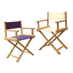 Teak Folding Directors Chairs