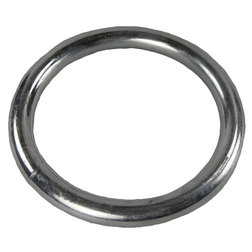 Zinc Plated 90mm Mooring Ring