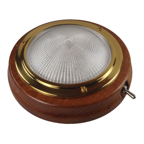 Teak Switched 145mm Cabin Light ...