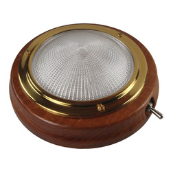 Teak Switched 145mm Cabin Light