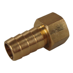 "Brass Hose Connector 3/8"" BSPF to 1/2"" Hose"