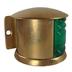 Vintage Brass Navigation Light - Starboard