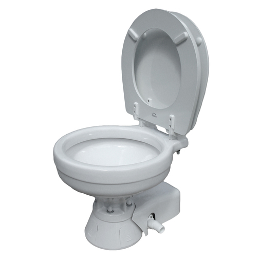 Jabsco Compact Bowl Quiet Flush Electric Toilet Sheridan