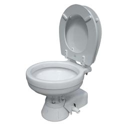 Jabsco Compact Bowl Quiet Flush Electric Toilet