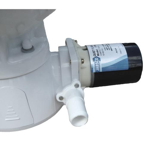 Jabsco Compact Bowl Quiet Flush Electric Toilet Sheridan