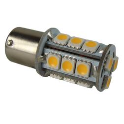 SMD LED 10-30v Small Bayonet Ba15s Bulb - Warm White