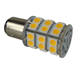 SMD LED 12v 3.2w Small Off Set Bayonet Bay15d Bulb