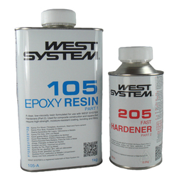 West System Epoxy A Pack - 205 Fast Hardener